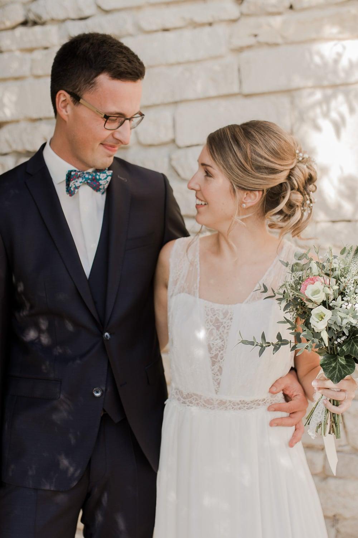 couple mariés photographe mariage caen