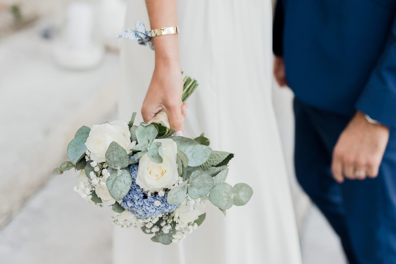 bouquet mariée mariage photographe caen calvados
