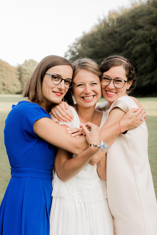 témoins filles mariage photographe caen calvados