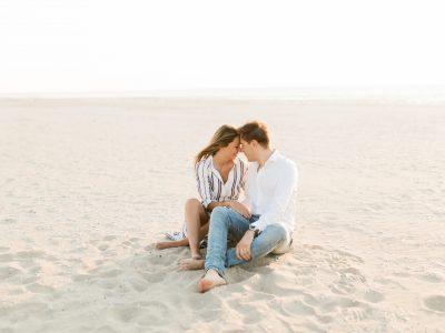 Séance photo Engagement - Amélie et Romain - Deauville NORMANDIE