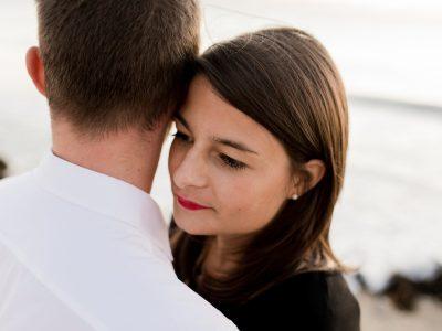 Séance engagement - Marion & Dimitri - Manche NORMANDIE