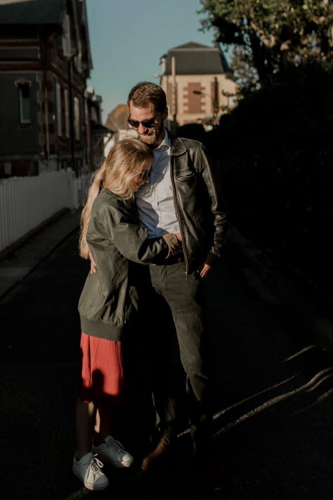 photographe vidéaste engagement couple mariage normandie