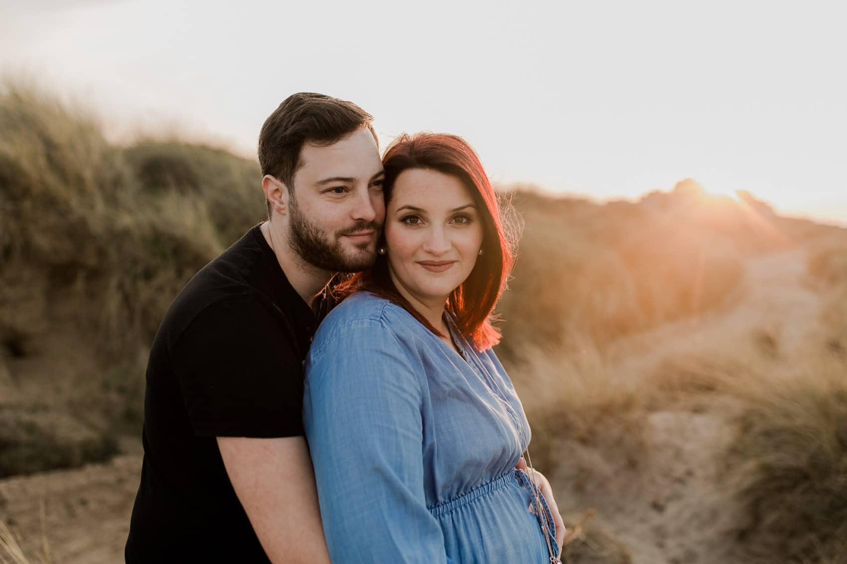 photographe grossesse maternité enceinte ventre rond calvados normandie