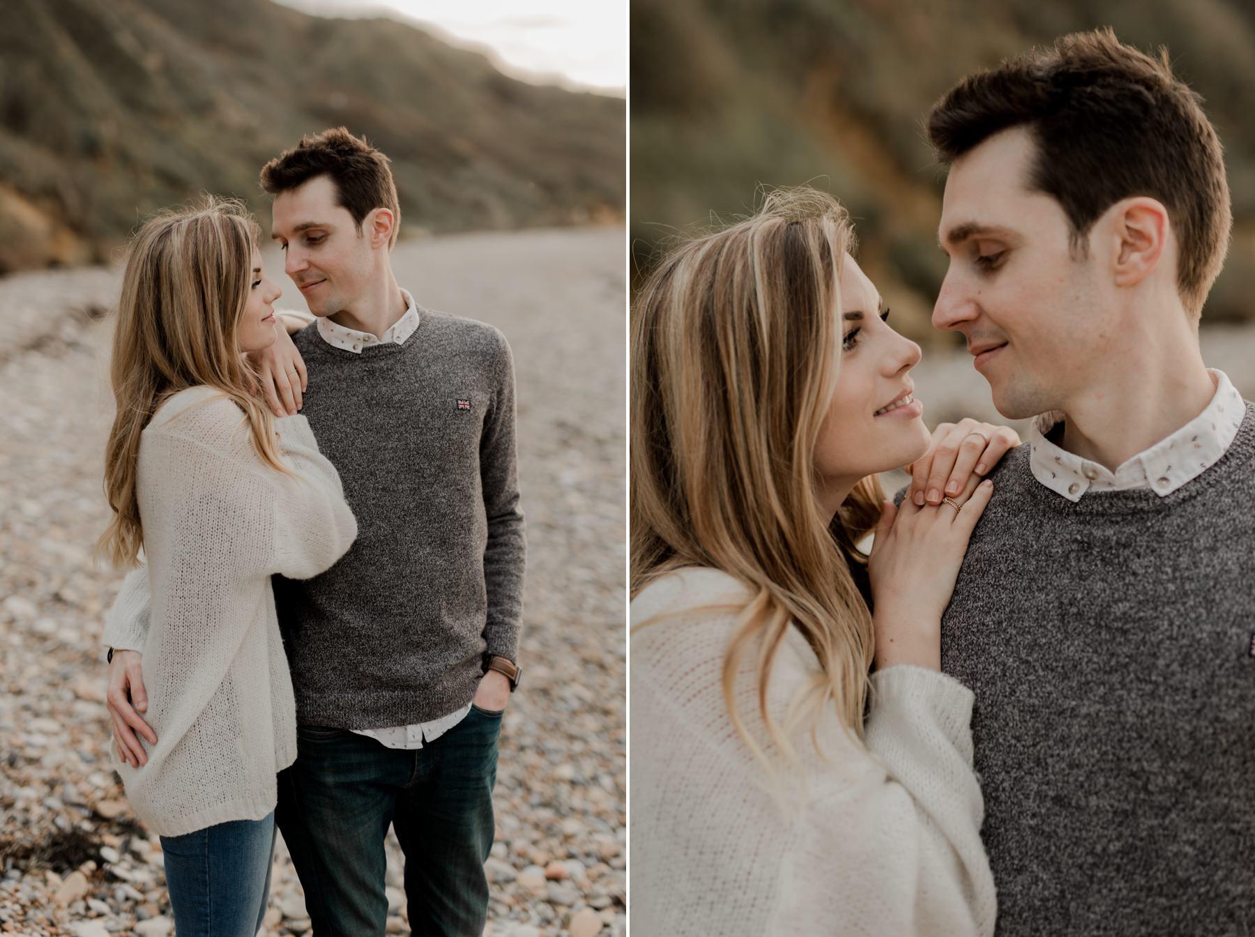 photographe de mariage couple engagement normandie