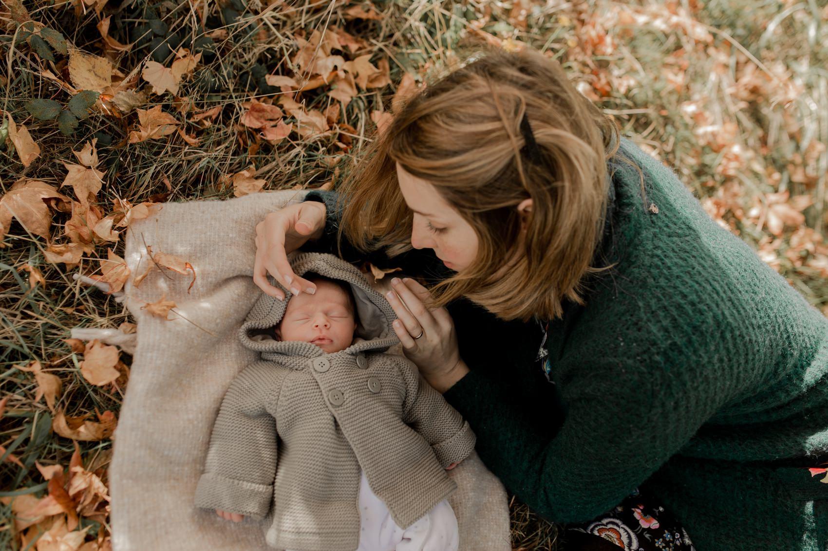 shooting photo bébé famille naissance nouveau né calvados normandie