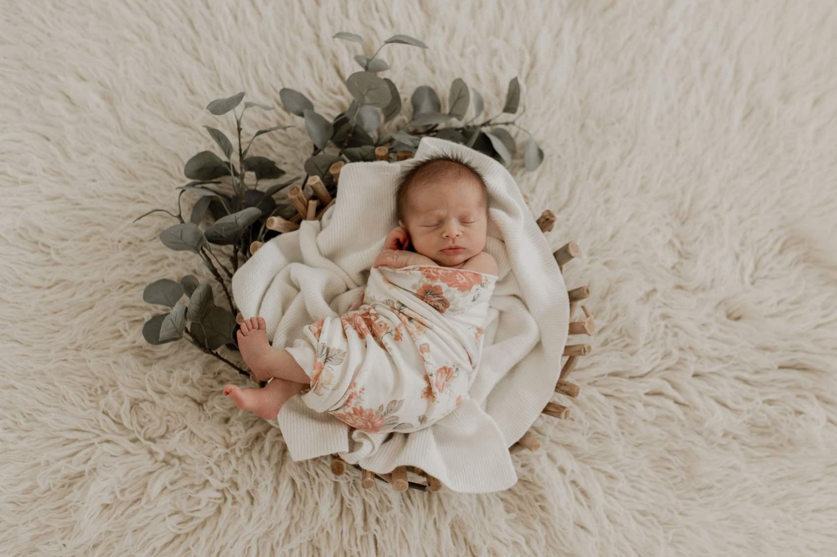 photographe nouveau né bébé posing photos artistiques calvados