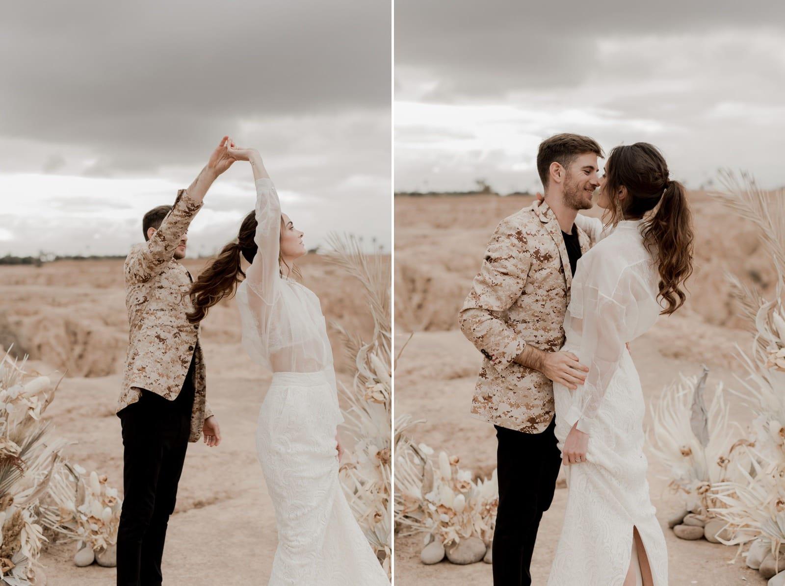 photographe et vidéaste mariage bohème normandie