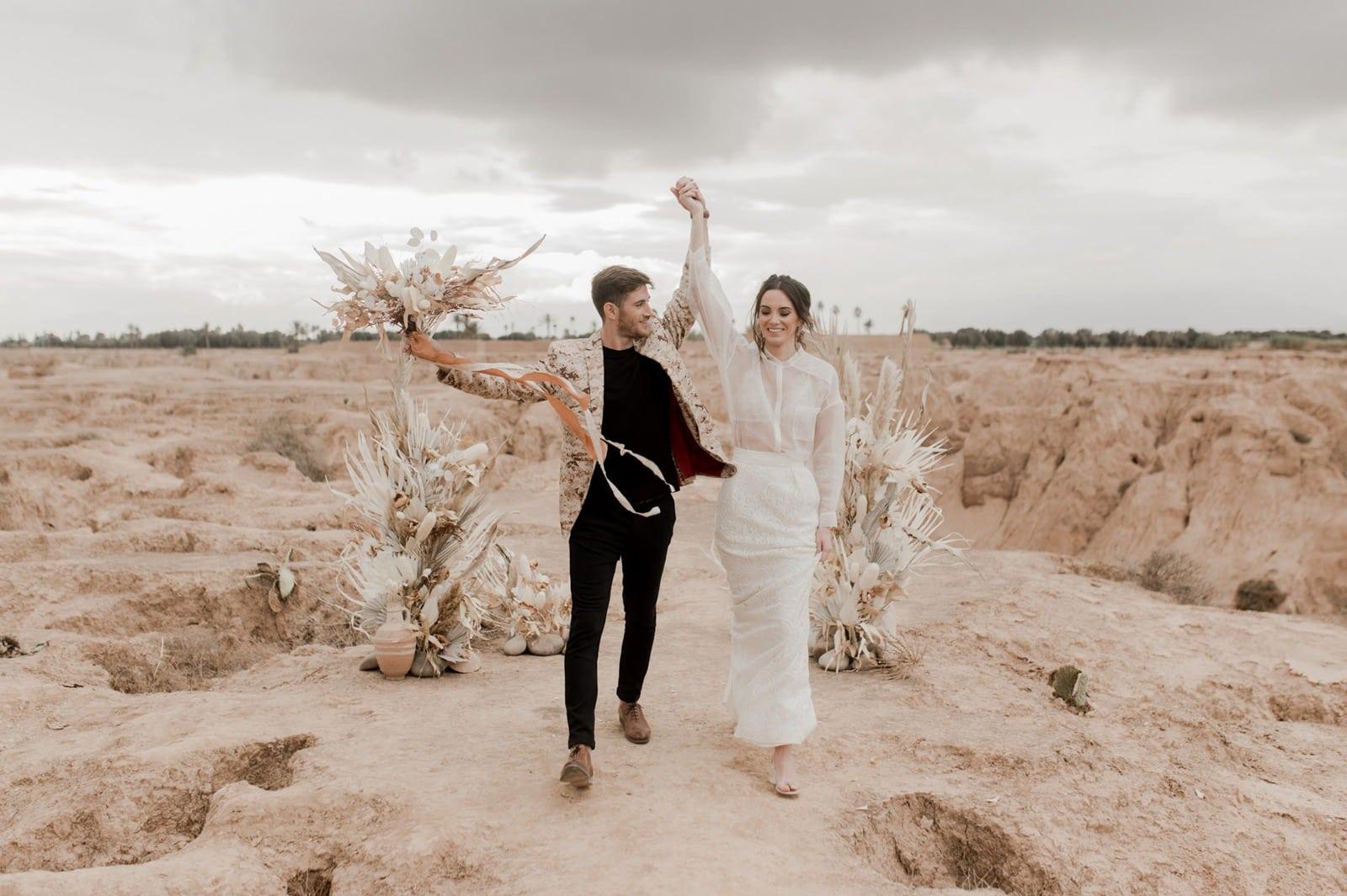 photographe et vidéaste mariage bohème elopement