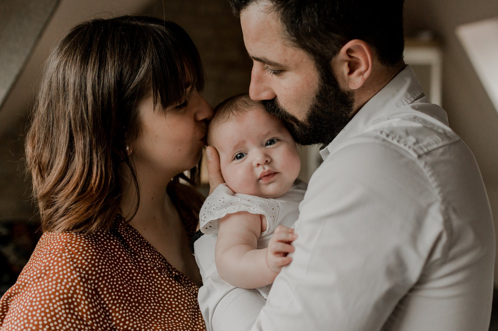 Séance couple et bébé à Caen