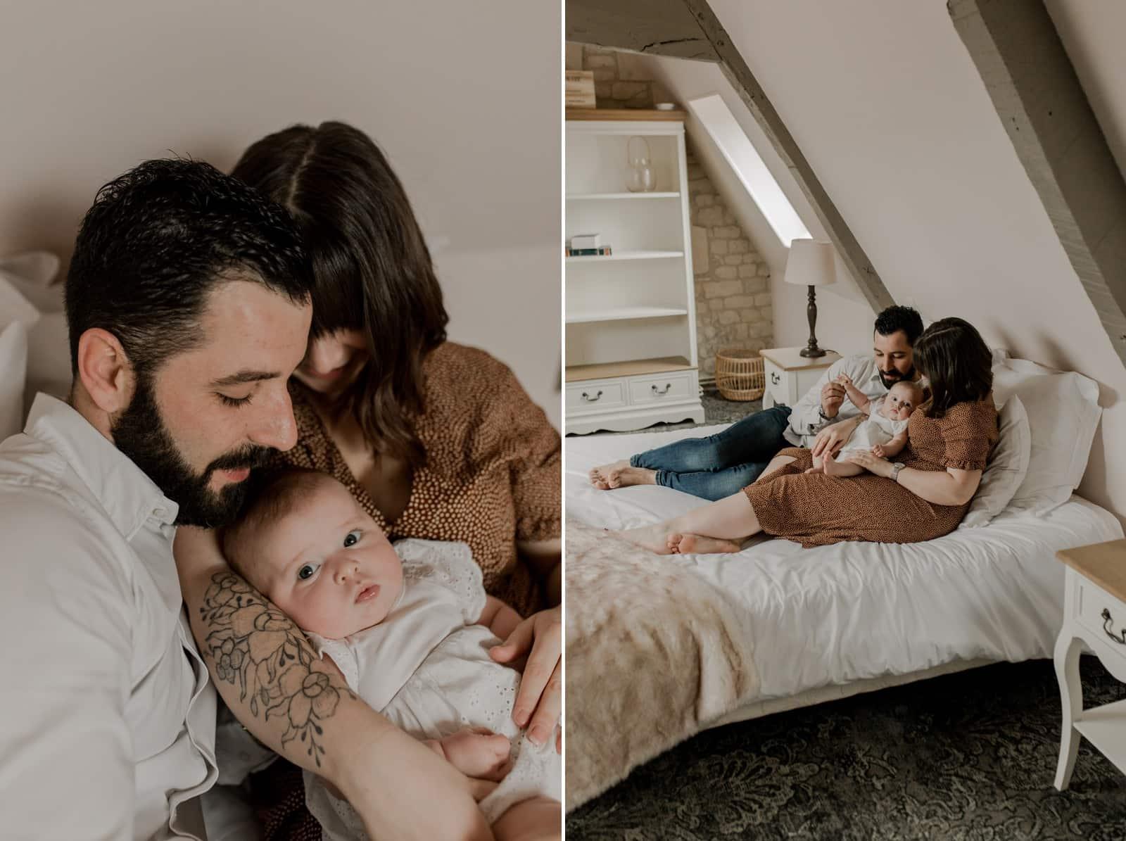 Séance photo famille Normandie