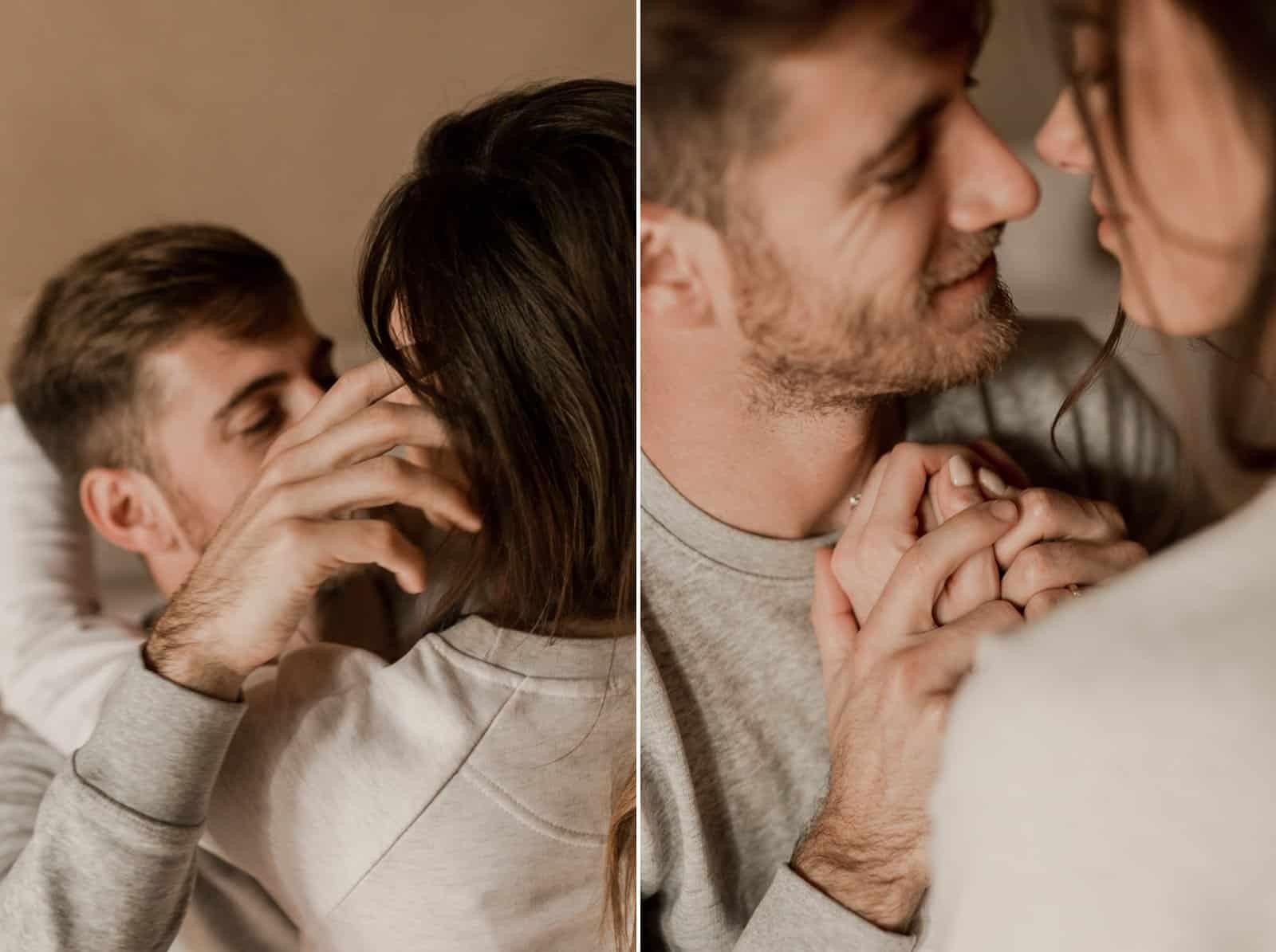 photographe couple intime normandie calvados caen