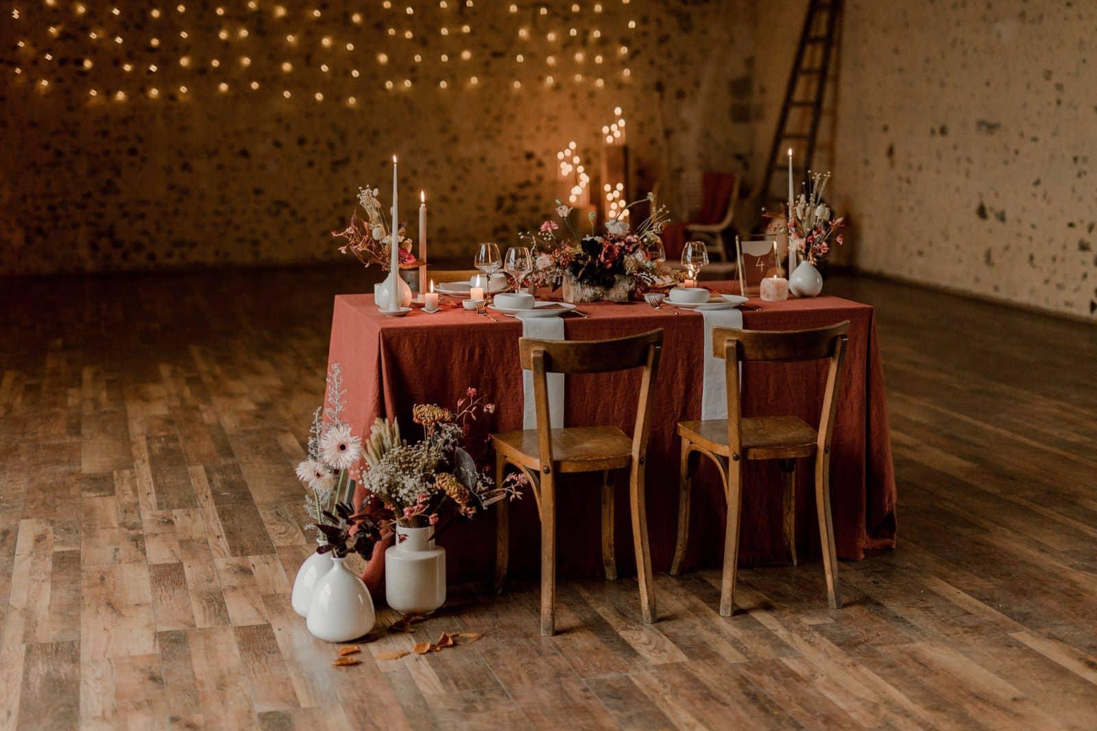 Un mariage au Domaine des Evis