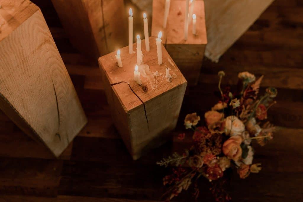 décoration mariage automne normandie