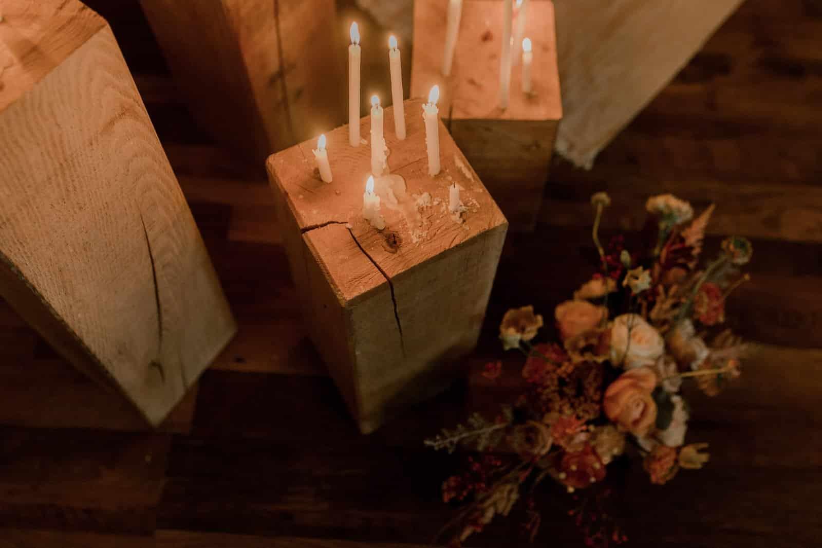 Décoration mariage folk en Normandie