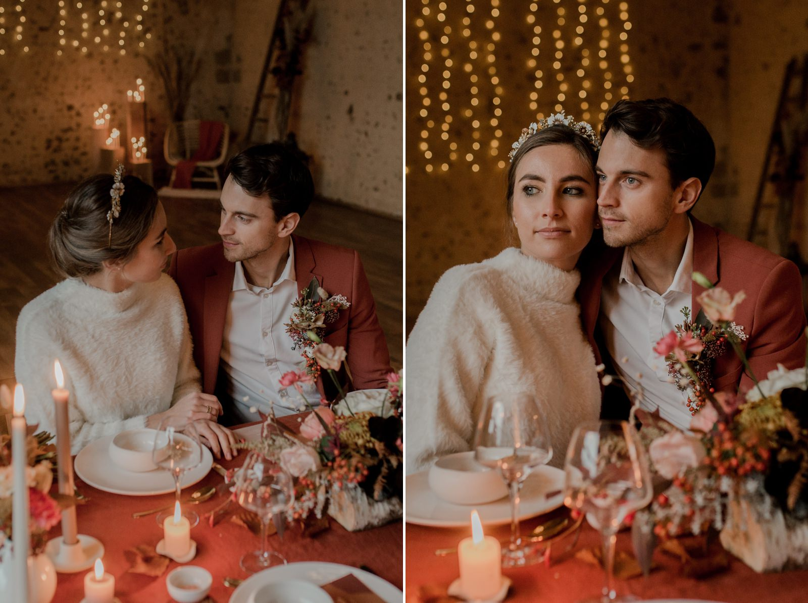 mariage bohème au domaine des evis