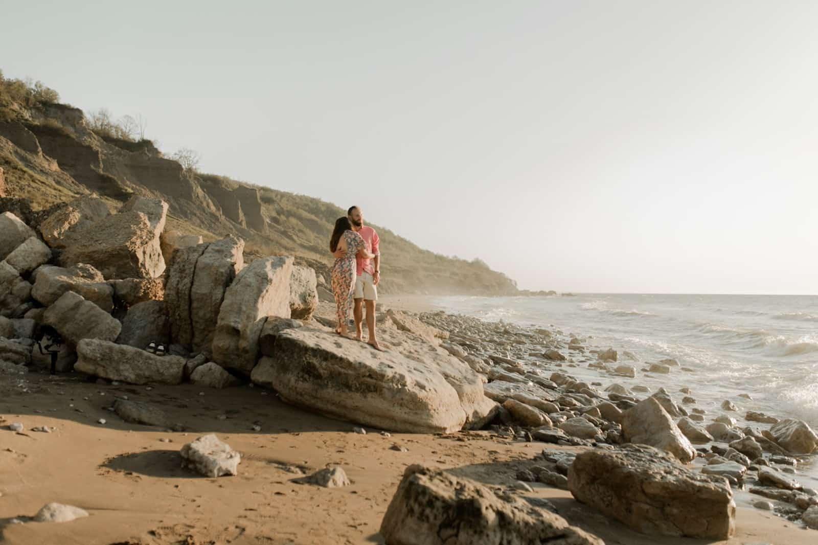 séance couple camille julien villers sur mer normandie