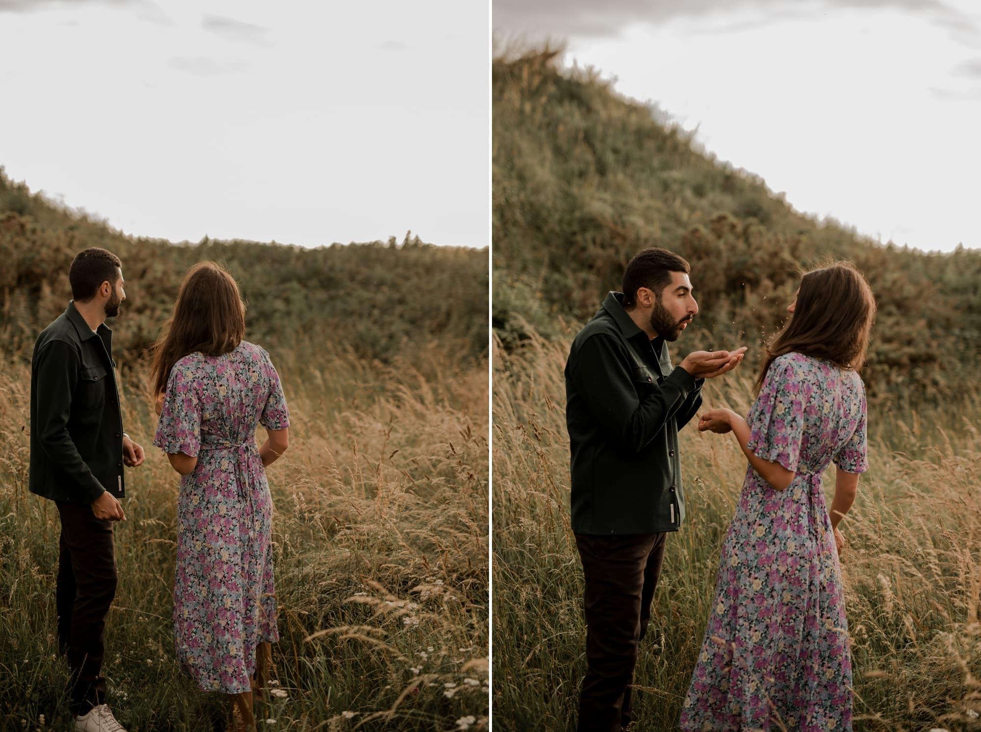 duo photo vidéo mariage cérémonie laique champêtre calvados